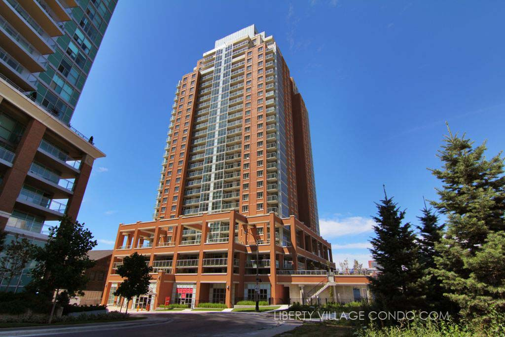 125 Western Battery Rd The Tower at King West from east