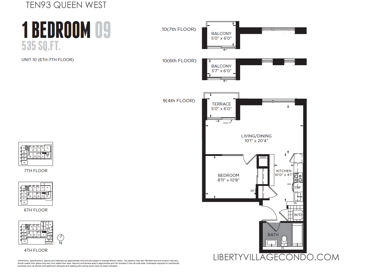 Ten93 Queen West Pre Construction Condo LIBERTY VILLAGE CONDO