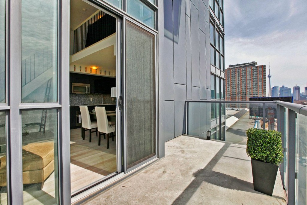 5 Hanna Ave 639 Balcony 2