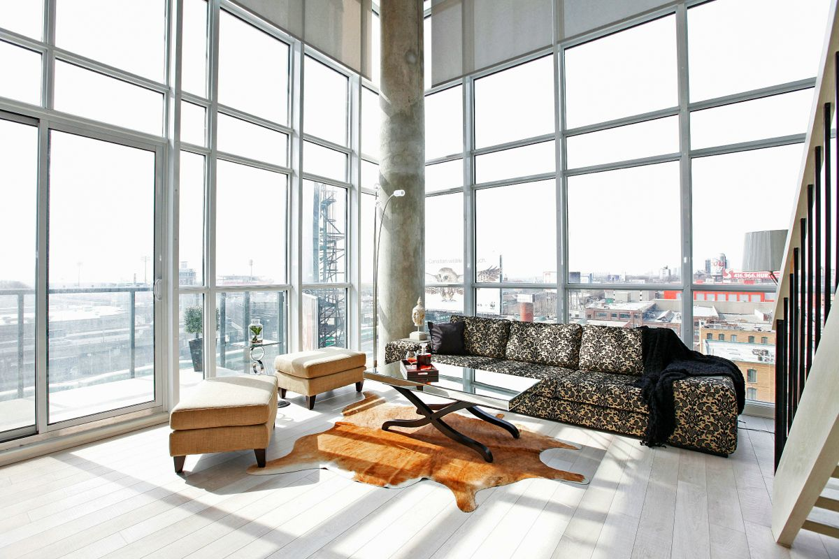Just sold 2 storey 2 bedroom den loft at 5 hanna ave - 3 bedroom condo for sale toronto ...