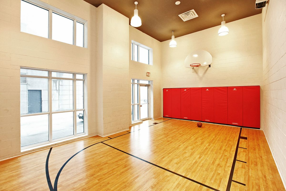Just sold over asking price 1 bedroom loft suite at 5 Indoor half court basketball cost