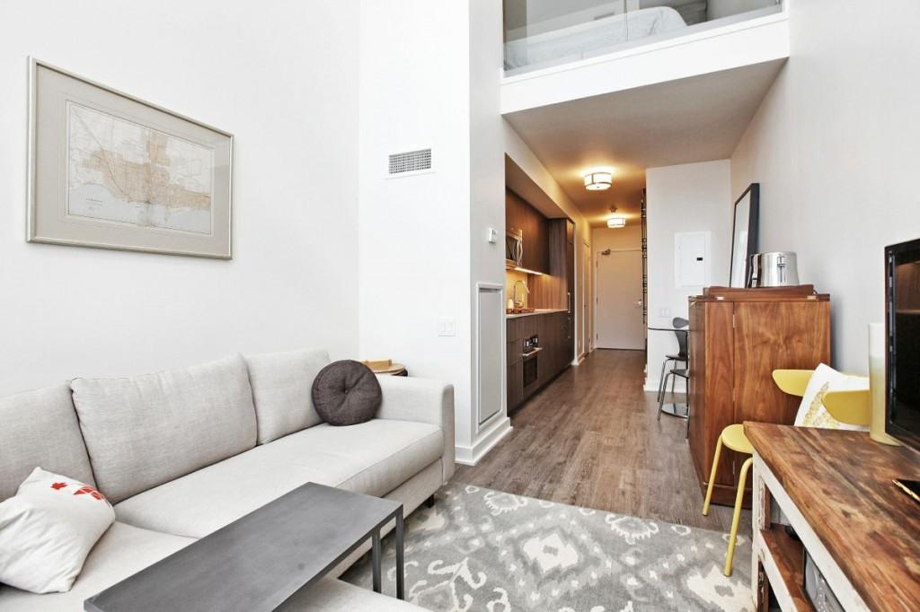 5 Hanna Lofts 715 Living Room