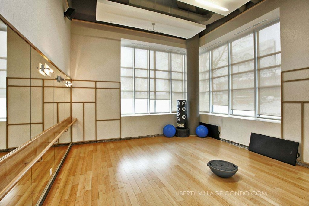 Liberty Market Lofts Amenities Yoga Studio 1