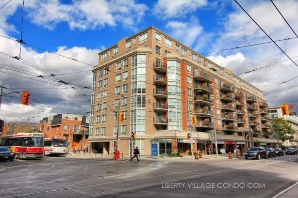 1000 King St West - Massey Square Condos at the corner of Shaw and King