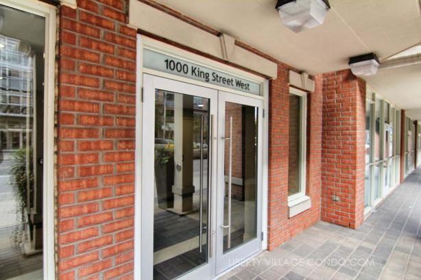 1000 King St West front entrance
