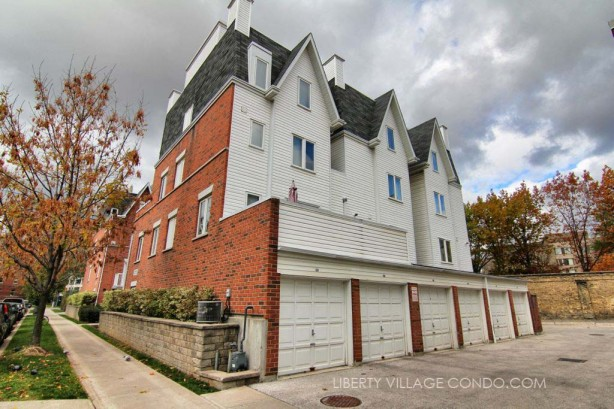 12 Sudbury St private garages attached to each townhome