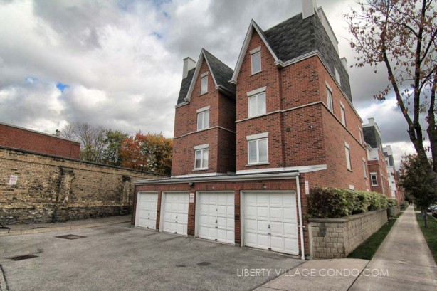 12 Sudbury St townhomes with direct garage access