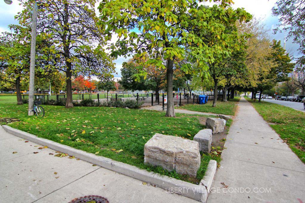 Stanley Park Toronto behind 15 Stafford St