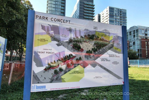 Lisgar Park concept plan