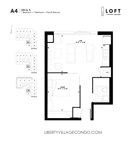Q-Loft-floor-plan-1-bedroom-526-sq-ft-A4