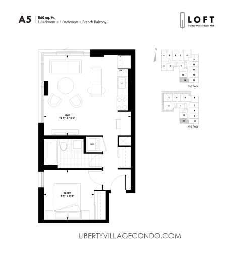 Q-Loft-floor-plan-1-bedroom-560-sq-ft-A5